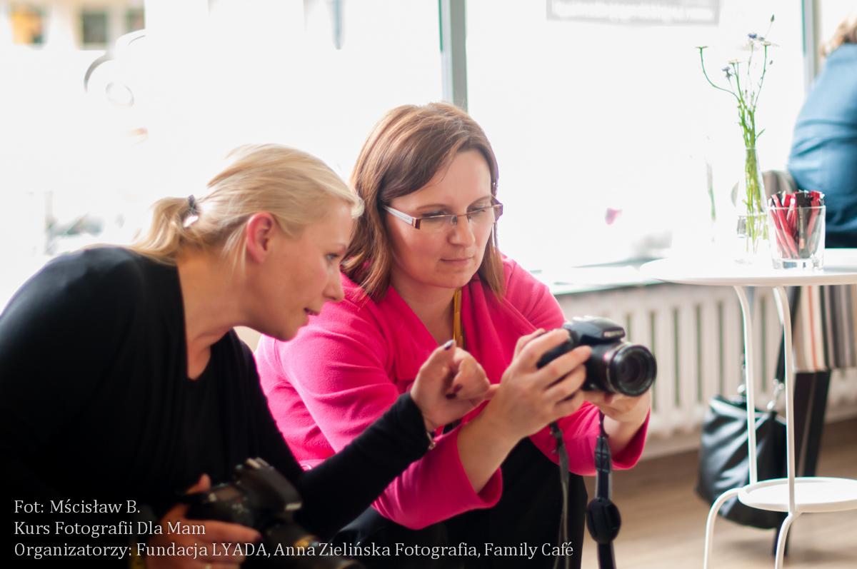 Kurs Fotografii Dla Mam - zajęcie I
