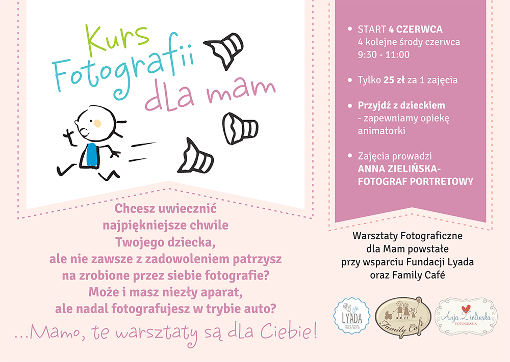 Kurs Fotografii dla Mam