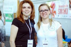 Maja Kimnes i Edyta Wieczorek