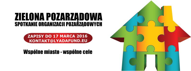 Zielona Pozarządowa – spotkanie dla organizacji pozarządowych